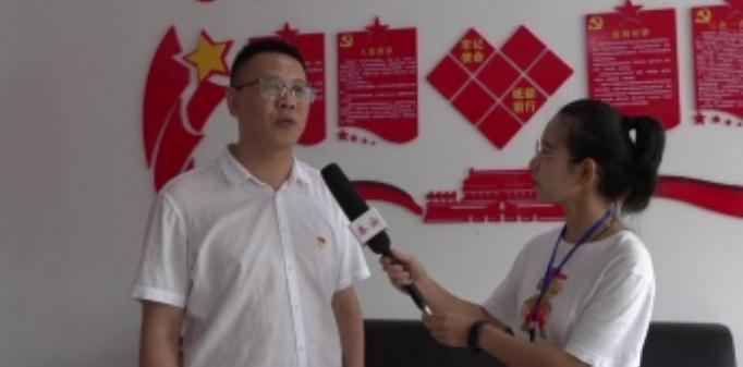 泰安电视台专刊部走进东平县老湖镇前埠子村采访