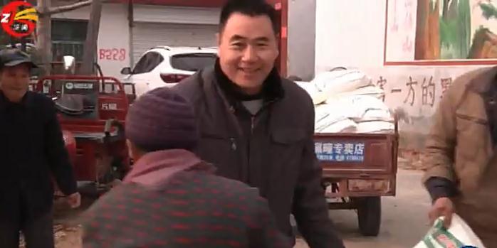 山东品悦食品有限公司总经理焦安青致富不忘乡亲回乡献爱心